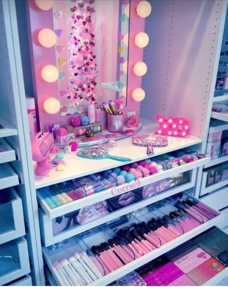 kids room makeup decoration