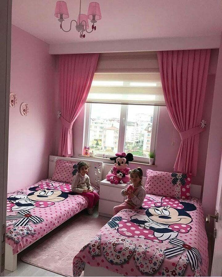 kids room mickey minnie