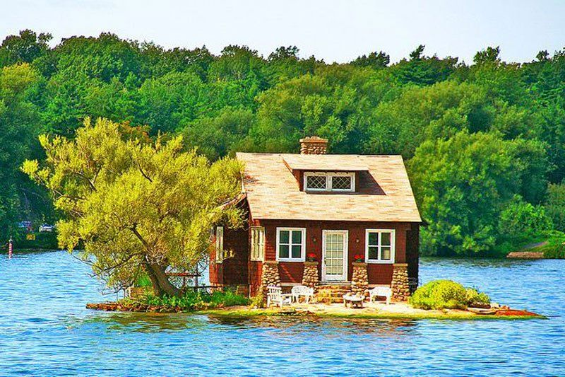 house in Small Island
