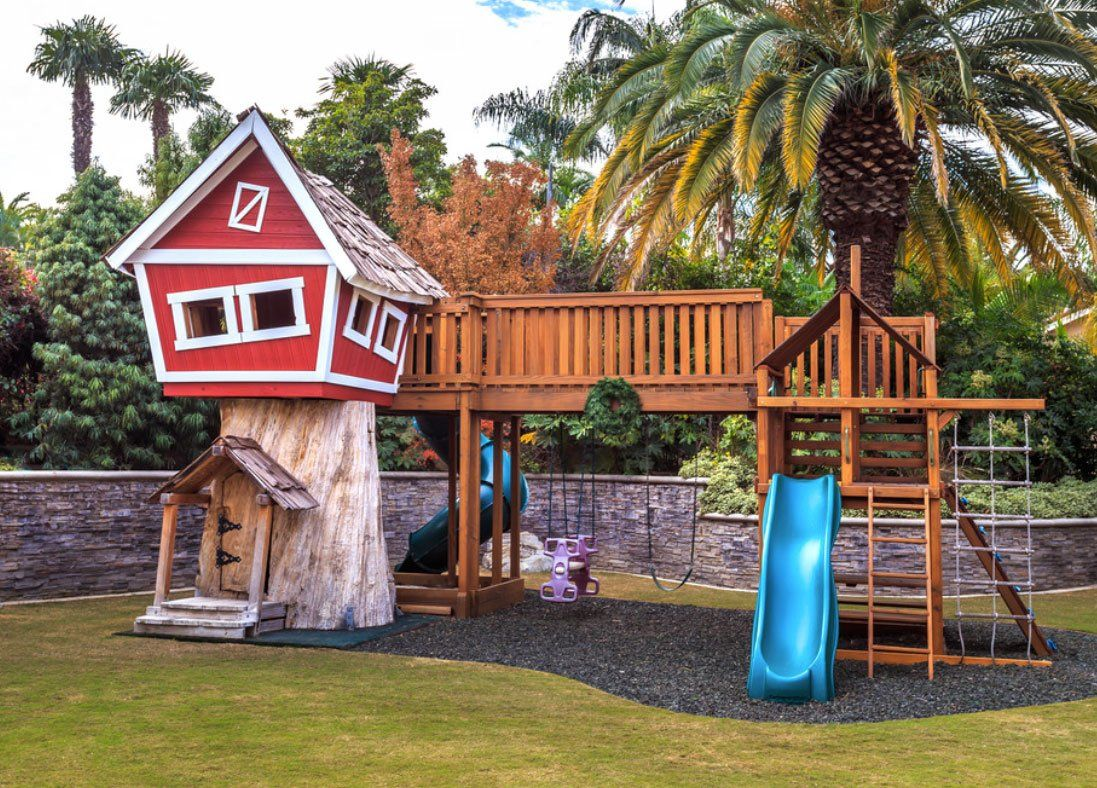 playground treehouse ideas