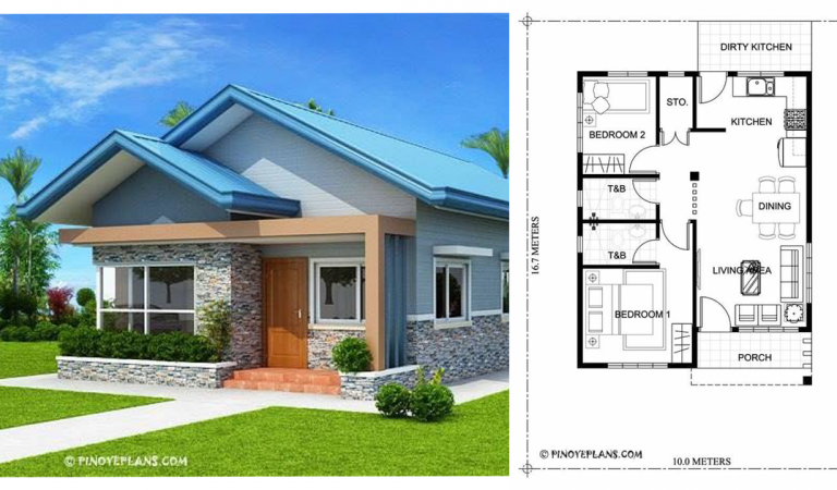 5+ Small Houses With Design Plans That You Can Get Inspiration From