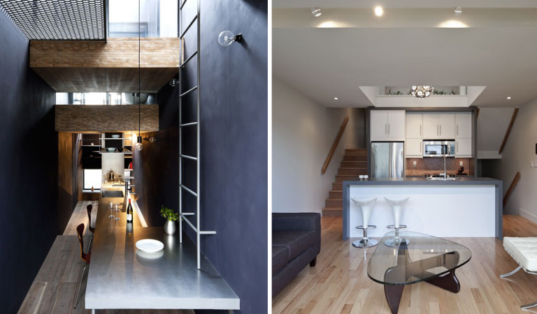 5 Curiously Narrow Houses With Exemplary Designs