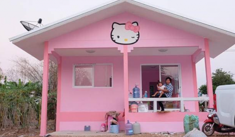 Adorable Hello Kitty House Perfect for fans