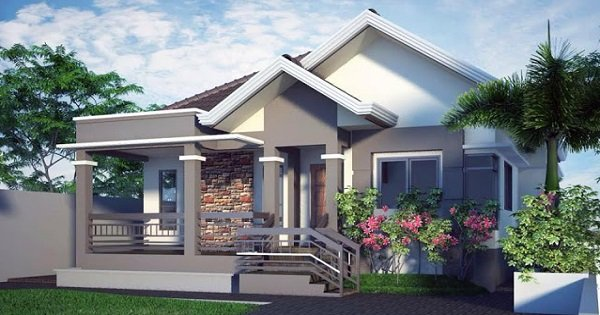 Modern 3-Bedroom House Design with Cool Ideas for Interior Decoration