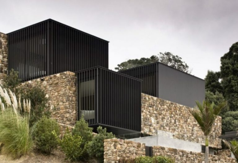 Local Rock House in Waiheke Island, Auckland, New Zealand by Pattersons