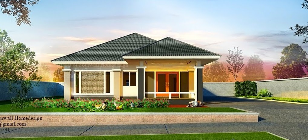Single-Storey Fully Flexible And Customizable House design