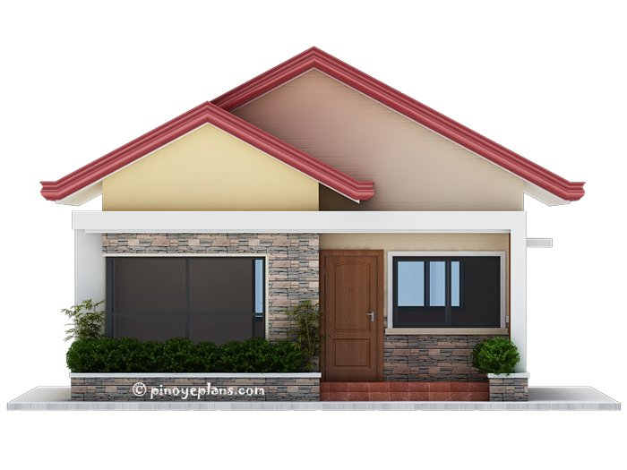 3-Bedroom Single Storey House Design 4