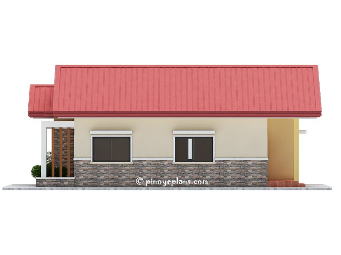 3-Bedroom Single Storey House Design 7
