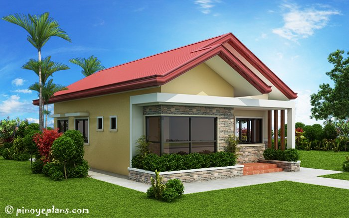 3-Bedroom Single Storey House Design 2