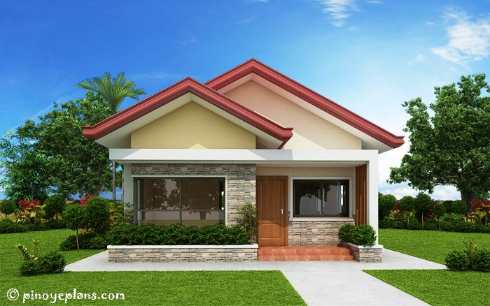 3-Bedroom Single Storey House Design 1