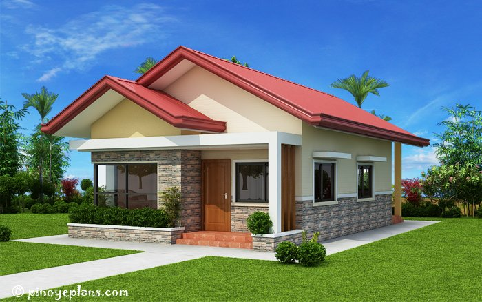 3-Bedroom Single Storey House Design 3