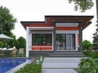 single story house design