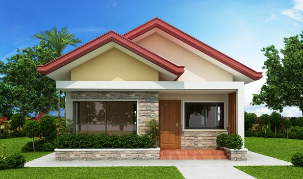 6+ Photos of 3-Bedroom Single Storey House Design with Plan