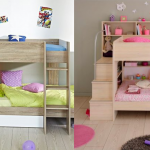 Beds for Kids with Cool Designs and Storage Options