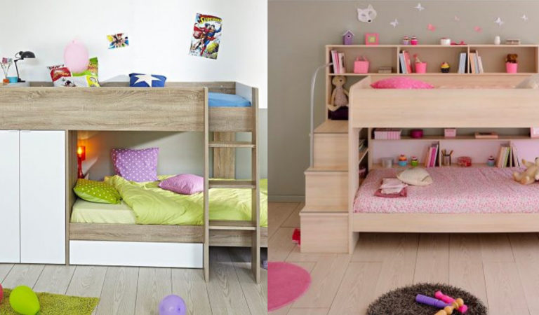 30+ Photos of Beds for Kids with Cool Designs and Storage Options