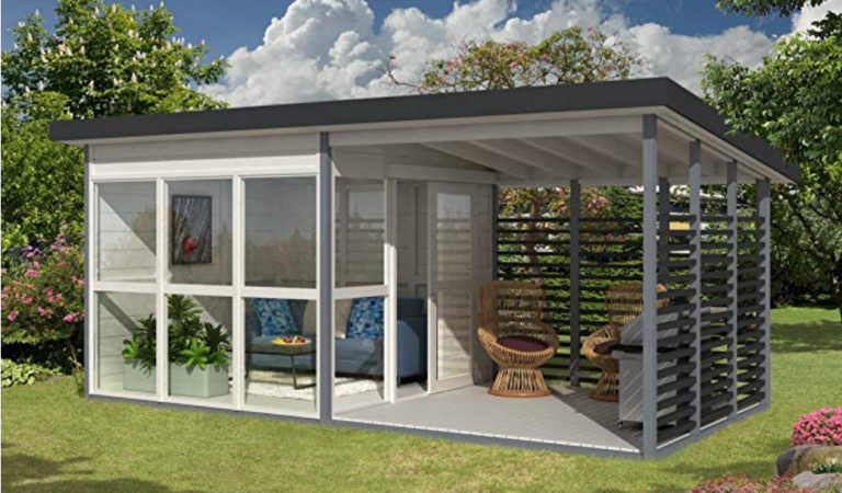 Amazon Sells a DIY Backyard Guest House That Can Be Built in 8 Hours