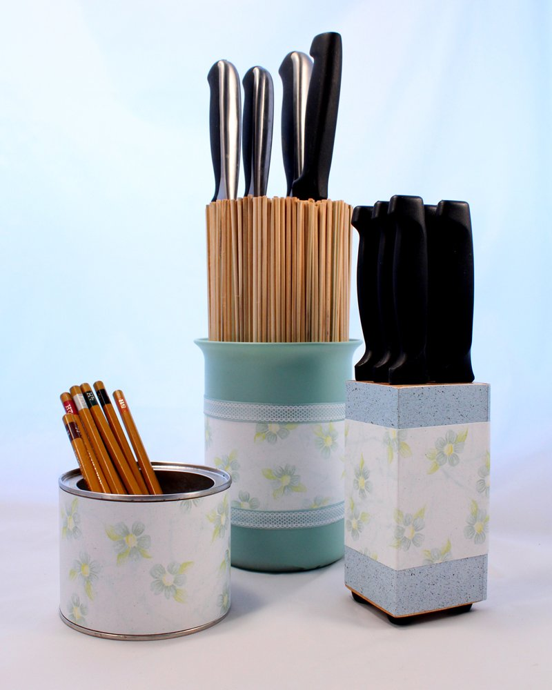 Artsy Recycled Holders