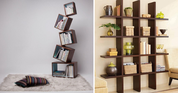 10+ Creative Bookshelves Ideas to Store and Display Books in Extraordinary Way