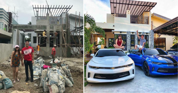This Couple Shares Their Impressive Dream House With 3-Car Garage