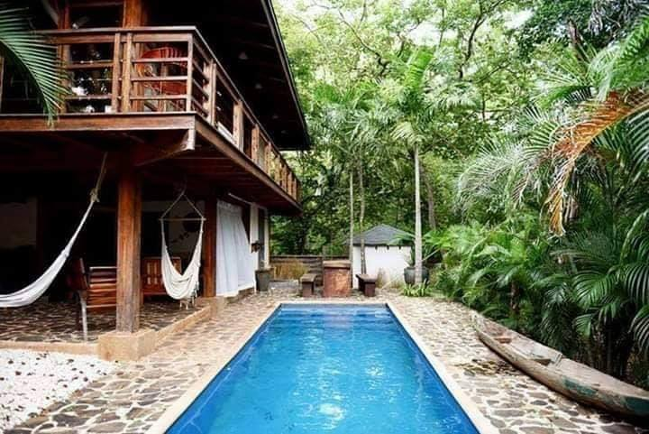 Native House with swimming pool