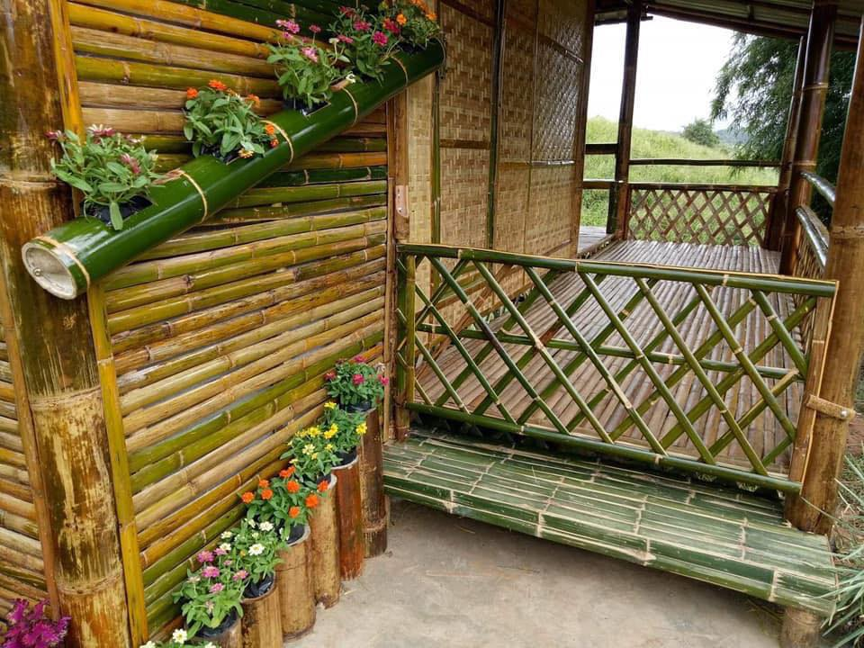 Native House Made of Bamboo 2