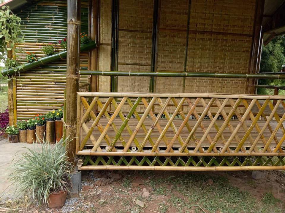 Native House Made of Bamboo 4