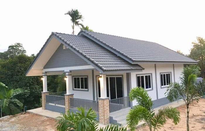 Space-Saver Bungalow with Three Bedrooms