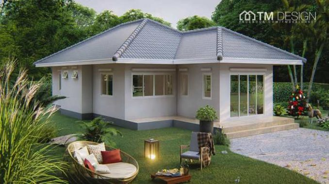 Compact Three Bedroom House with Functional Design, Perfect for the Family