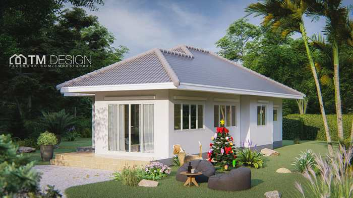Three Bedroom House with Functional Design