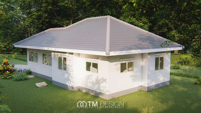 Three Bedroom House with Functional Design 3