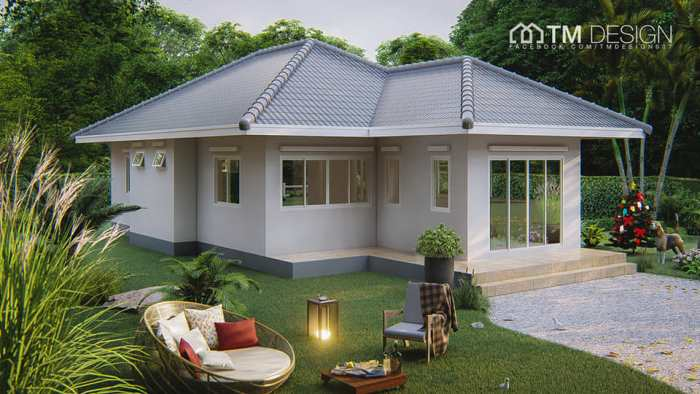 Three Bedroom House with Functional Design 2