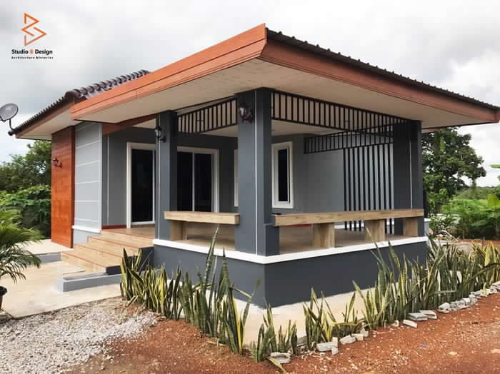 Modern One-Story House Design  3