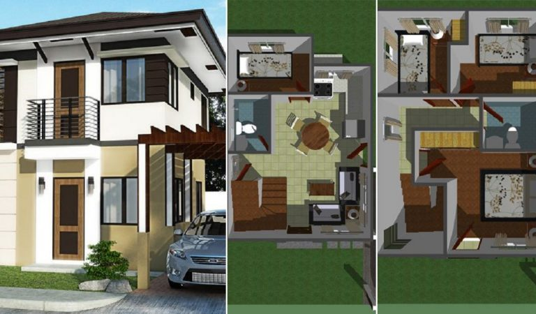 Modern Two-Story Home with Sophisticated Exterior
