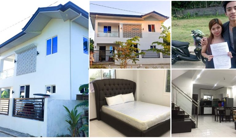 Couple Builds 2-Story Dream House from Earnings as OFWs