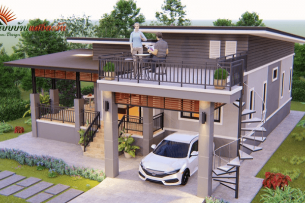 Modern 3-Bedroom Loft House
