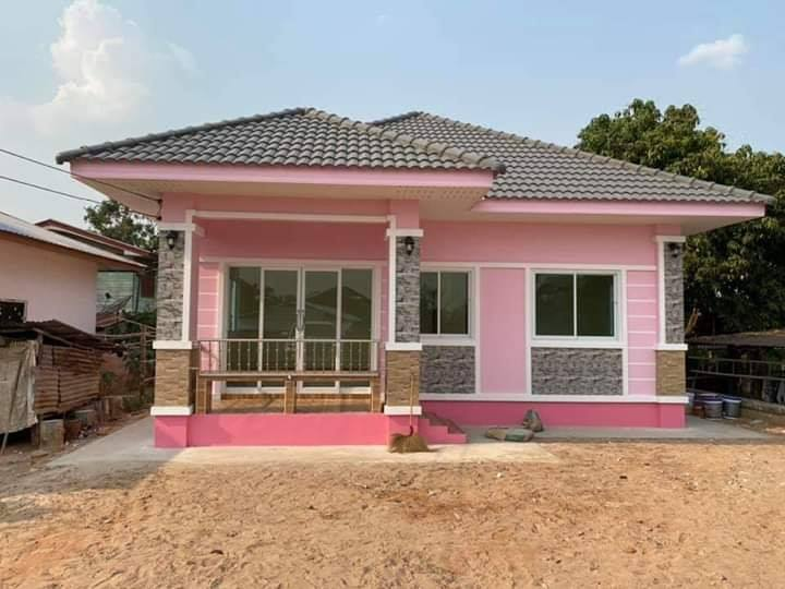 Charming Pink House