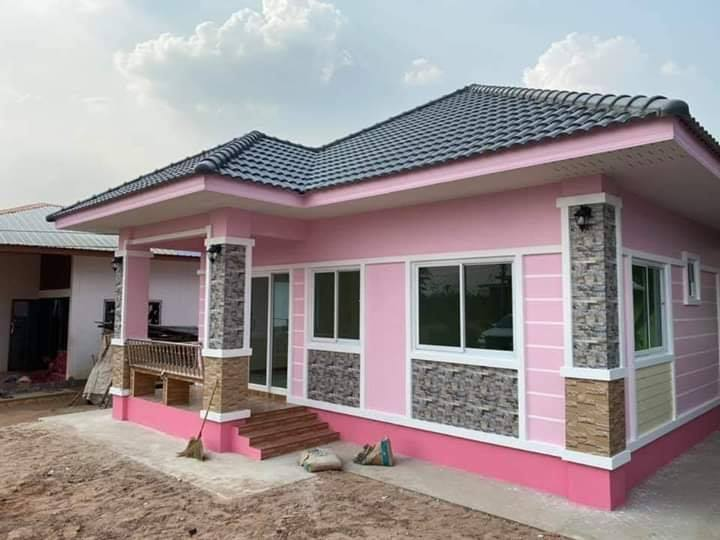 Charming Pink House 2