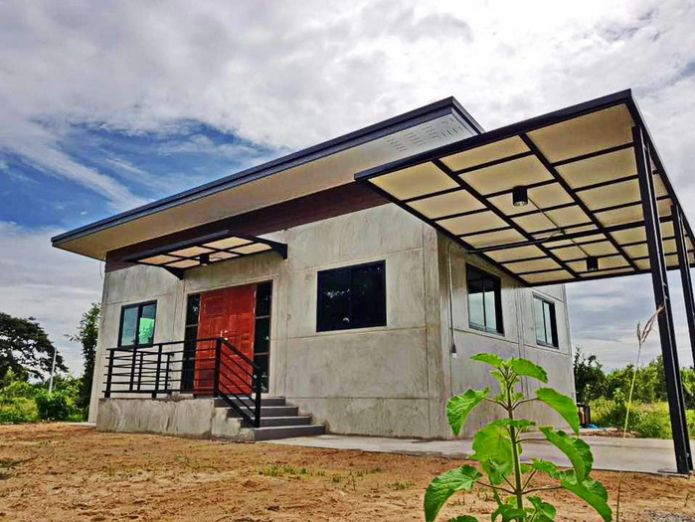 simple 2bedroom house design with loft style budget