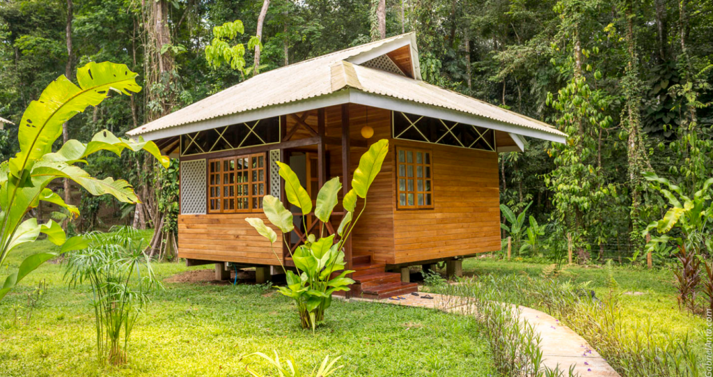 caribbean Style Wooden House