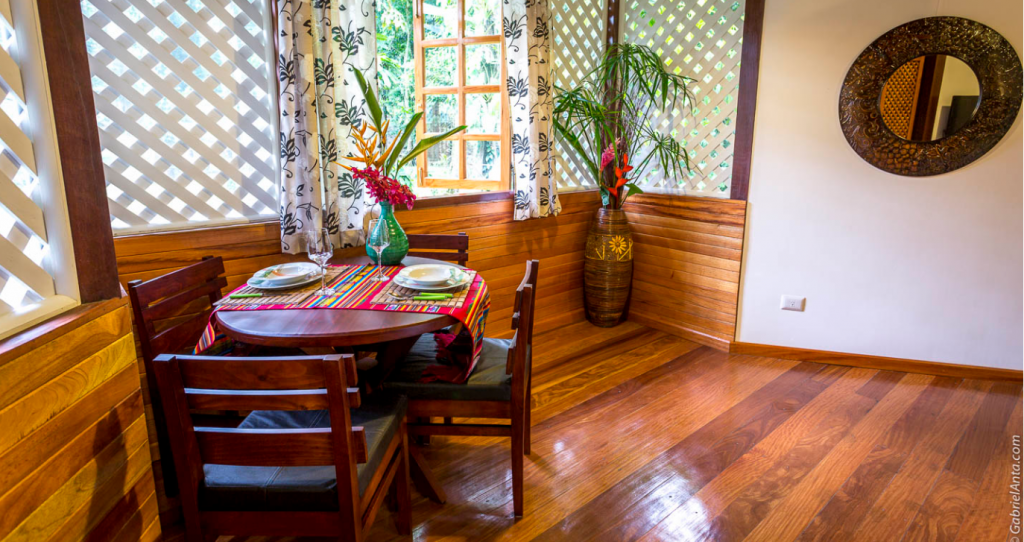 caribbean Style Wooden House interiors