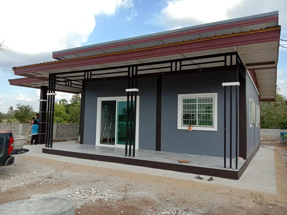Modern One-Story House front