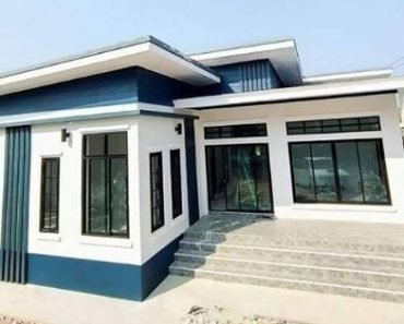 4-Bedroom Modern-Style House with 2 Bathrooms