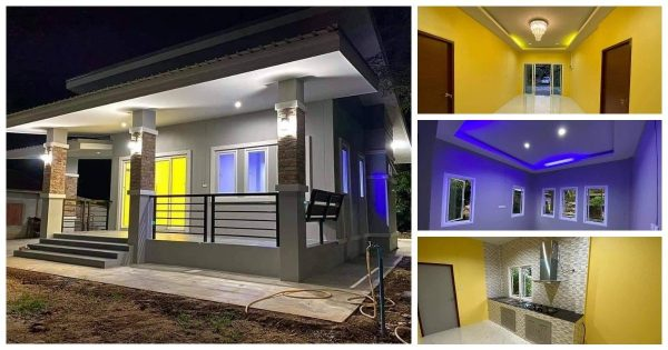 Superb 3-Bedroom Stylish House Design with Colorful Interiors