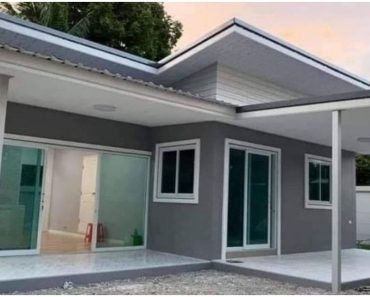 Small 1-Bedroom House for Affordable Budget