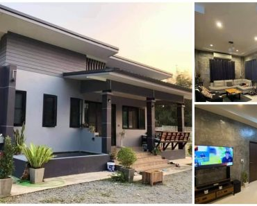 Nice 3-Bedroom House Design with Modern Style & Large Spaces