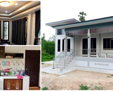 3-Bedroom Modern House Design with 100sqm Space