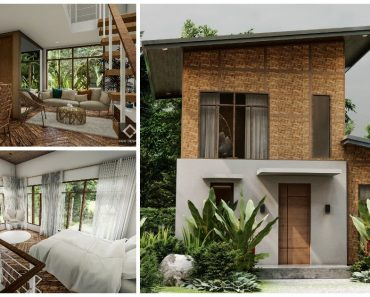 Modern Bahay Kubo Design with Native Furniture Pieces