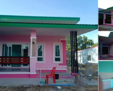 charming pink house 1