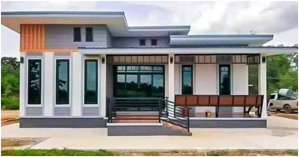 1-Story House with 3 Bedrooms