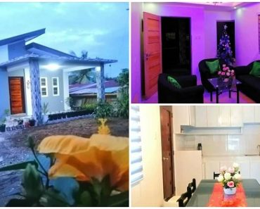 2-Bedroom Purple House